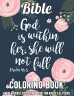 Bible Coloring Book: A Bible Verse Colouring Book for Adults & Teens: A Fun, Original Christian Coloring Book with Joyful Designs and Inspi Cover Image
