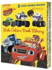 Blaze and the Monster Machines Little Golden Book Library (Blaze and the Monster Machines): Five of Nickeoldeon's Blaze and the Monster Machines Little Golden Books Cover Image