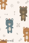Password Book: Include Alphabetical Index With Cute Bear Tribal Boho Cartoon Cover Image