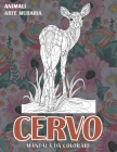 Mandala da colorare - Arte muraria - Animali - Cervo Cover Image