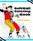 Softball Coloring Book Cover Image