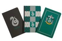 Harry Potter: Slytherin Pocket Notebook Collection (Set of 3) Cover Image