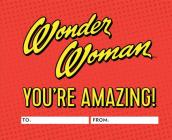 Wonder Woman: You're Amazing!: A Fill-In Book Cover Image