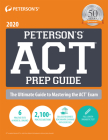 Peterson's ACT Prep Guide 2020 Cover Image