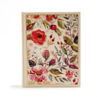 CSB Notetaking Bible, Floral Cloth-Over-Board Cover Image