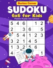 Sudoku for Kids: 6x6 Medium 100 Puzzles Games Book with Solution for Beginners Vol.3 Space Themed, Kids Ages 6-10, 8-12 Cover Image