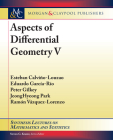 Aspects of Differential Geometry V (Synthesis Lectures on Mathematics and Statistics) Cover Image