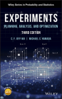 Experiments: Planning, Analysis, and Optimization Cover Image