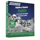 Pimsleur English for Portuguese (Brazilian) Speakers Quick & Simple Course - Level 1 Lessons 1-8 CD: Learn to Speak and Understand English for Portuguese with Pimsleur Language Programs Cover Image