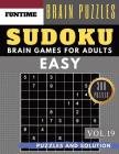 SUDOKU Easy: Jumbo 300 easy SUDOKU with answers Brain Puzzles Books for Beginners (sudoku book easy Vol.19) Cover Image