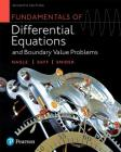 Fundamentals of Differential Equations and Boundary Value Problems Cover Image