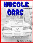 Muscle Cars Colouring Book Cover Image