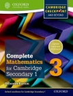 Complete Mathematics for Cambridge Secondary 1 Student Book 3: For Cambridge Checkpoint and Beyond Cover Image