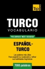 Vocabulario español-turco - 7000 palabras más usadas Cover Image