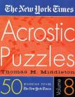 The New York Times Acrostic Puzzles Volume 8 Cover Image