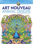 Creative Haven Art Nouveau Animal Designs Coloring Book Cover Image