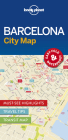 Lonely Planet Barcelona City Map Cover Image