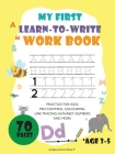 My first learn to write workbook Cover Image