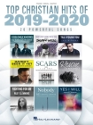 Top Christian Hits of 2019-2020 Piano/Vocal/Guitar Songbook Cover Image