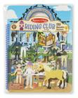 Puffy Sticker Activity Book - Riding Club Cover Image