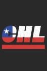 Chl: Chile Tagesplaner mit 120 Seiten in weiß. Organizer auch als Terminkalender, Kalender oder Planer mit der chilenischen Cover Image