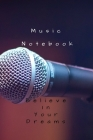 Music notebook: Musical songwriting lyric production notebooks Cover Image