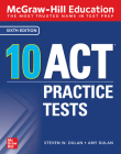 McGraw-Hill Education: 10 ACT Practice Tests, Sixth Edition Cover Image