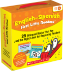 English-Spanish First Little Readers: Guided Reading Level D (Parent Pack): 25 Bilingual Books That are Just the Right Level for Beginning Readers Cover Image