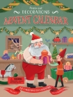 Press-Out Decorations: Advent Calendar: Includes 24 Christmas Decorations for Your Tree Cover Image