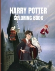 Harry Potter Coloring Book: Fantastic Activity Book, Magical Creatures and Places Cover Image