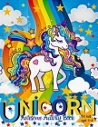 Unicorn Awesome activity Book For Kids ages 3-8: A Children's Coloring Book and Activity Pages for 3-8 Year old Kids Cover Image