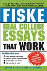 Fiske Real College Essays That Work Cover Image
