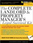 The Complete Landlord & Property Manager's Legal Survival Kit Cover Image