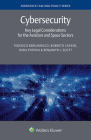 Cybersecurity: Key Legal Considerations for the Aviation and Space Sectors Cover Image