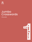 Jumbo Crosswords Book 1: a super-sized crossword book for adults containing 100 puzzles Cover Image
