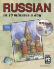 Russian in 10 Minutes a Day [With CDROM] Cover Image