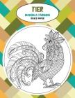 Mandala Färbung - Dickes Papier - Tier Cover Image