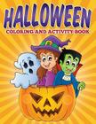 Halloween Coloring and Activity Book Cover Image