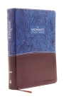 NIV, the Woman's Study Bible, Imitation Leather, Blue/Brown, Full-Color: Receiving God's Truth for Balance, Hope, and Transformation Cover Image