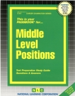 Middle Level Positions: Passbooks Study Guide (Career Examination Series) Cover Image