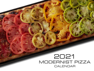 Modernist Pizza 2021 Wall Calendar Cover Image