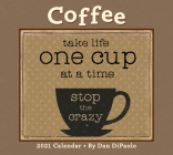 Coffee 2021 Deluxe Wall Calendar Cover Image