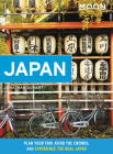 Moon Japan: Plan Your Trip, Avoid the Crowds, and Experience the Real Japan (Travel Guide) Cover Image