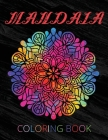 Mandala Coloring Book Cover Image