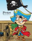 Piratas libro para colorear 1 & 2 Cover Image