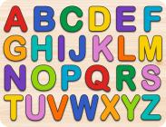 Letters Kids' Wooden Puzzle (26-Piece Set) Cover Image