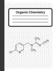 Organic Chemistry: Hexagonal graph paper for organic chemistry and biochemistry, small hexagons Cover Image