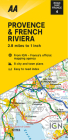 Road Map Provence & French Riviera (Road Map Europe) Cover Image
