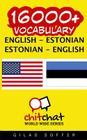 16000+ English - Estonian Estonian - English Vocabulary Cover Image