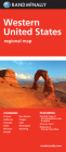 Rand McNally Western United States Regional Map Cover Image